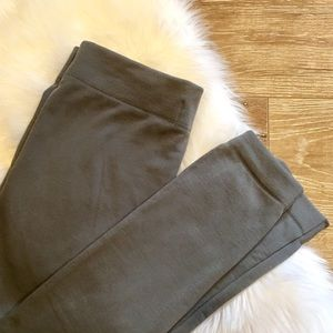 Grey Fleece Leggings